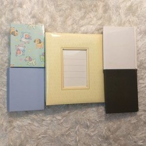 NWOT 5 Photo Album Scrapbook Baby Memories Bundle